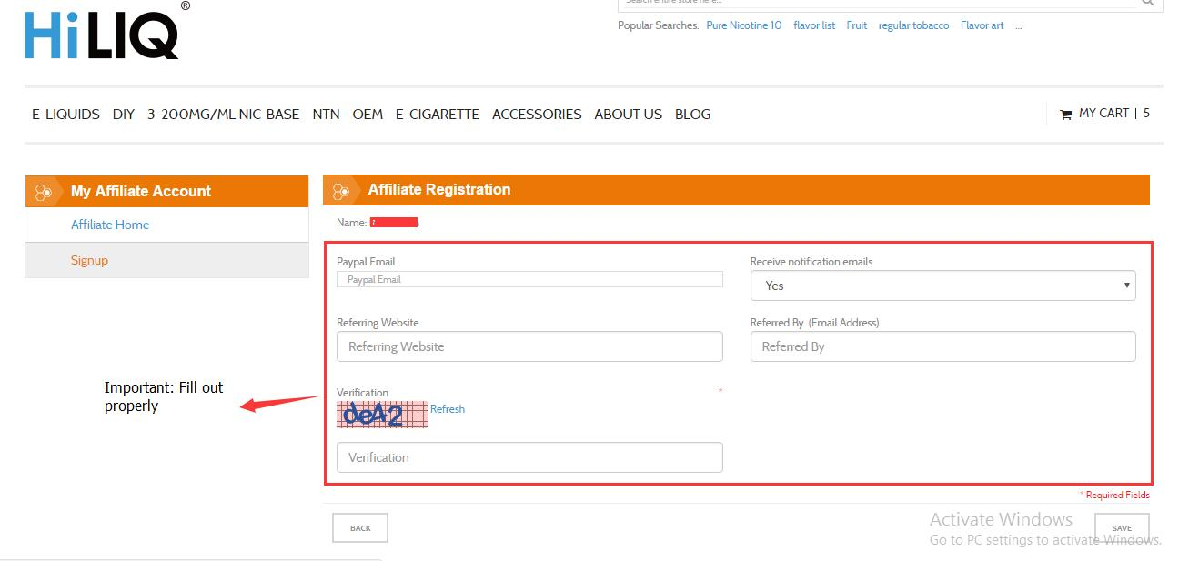 Vaping Community HiLIQ Blog - Create invoice from excel data online vape store